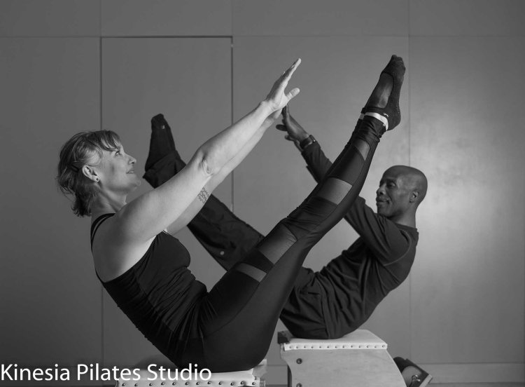 Christl and Scott at Kinesia Pilates Studio #Teaser
